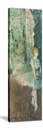 Dancer, 1895-96-Henri de Toulouse-Lautrec-Stretched Canvas Print