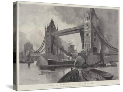 The New Tower Bridge over the Thames, Opened by the Prince of Wales, Saturday, 30 June-Henry Charles Seppings Wright-Stretched Canvas Print