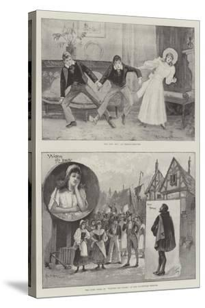Performing Arts in London-Henry Charles Seppings Wright-Stretched Canvas Print