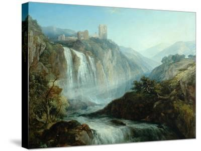 The Falls of Tivoli-Henry Dawson-Stretched Canvas Print