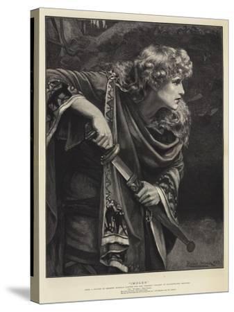 Imogen-Herbert Gustave Schmalz-Stretched Canvas Print
