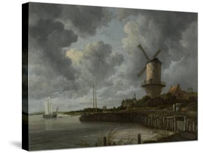 The Windmill at Wijk Duurstede, C.1668-70-Jacob Isaaksz Ruisdael-Stretched Canvas Print
