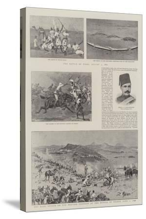 The Soudan Rebellion-John Charlton-Stretched Canvas Print