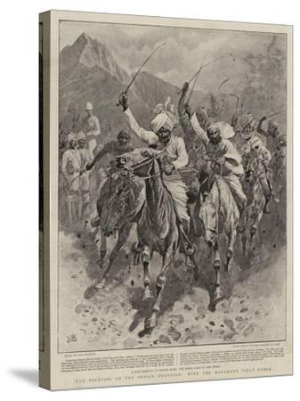 The Fighting on the Indian Frontier, with the Malakand Field Force-John Charlton-Stretched Canvas Print