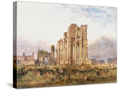 Tynemouth Priory, East End, 1878-John Storey-Stretched Canvas Print