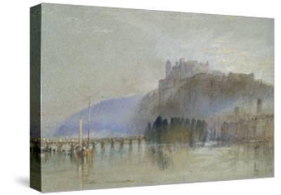 Amboise, C. 1830-J^ M^ W^ Turner-Stretched Canvas Print