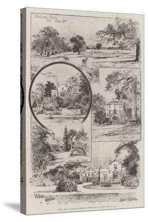 White Lodge, Richmond, Where Our Future King Was Born, 23 June 1894-Joseph Holland Tringham-Stretched Canvas Print