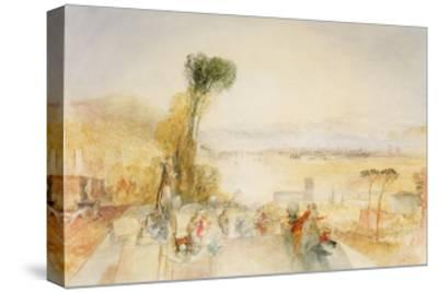 Lake of Thun, C.1845-51-J^ M^ W^ Turner-Stretched Canvas Print