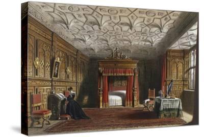 Inlaid Chamber, Sizergh, Westmoreland, 1849-Joseph Nash Elder-Stretched Canvas Print