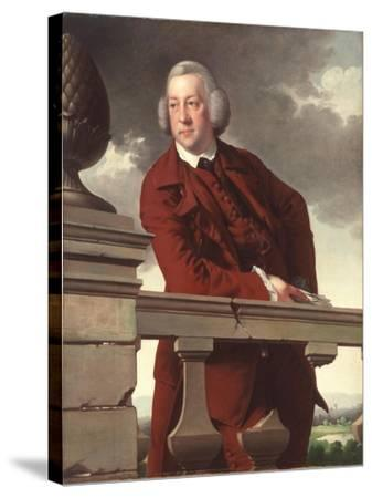 Mr. Robert Gwillym, 1766-Joseph Wright of Derby-Stretched Canvas Print