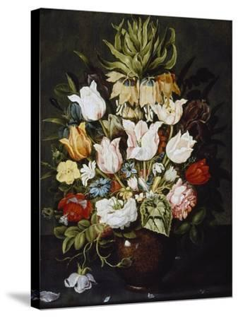A Vase of Flowers, C. 1616-Osias The Elder Beert-Stretched Canvas Print