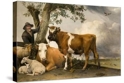 The Bull, 1647-Paulus Potter-Stretched Canvas Print