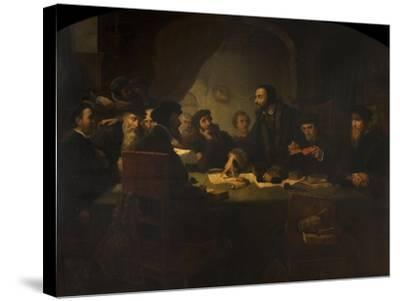 After Darkness, Light, C.1852-Pierre Antoine Labouchere-Stretched Canvas Print