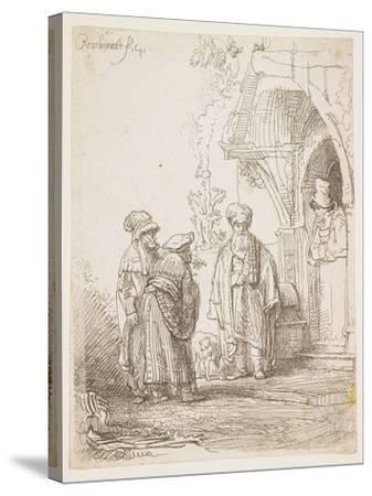 Jacob and Laban, 1641-Rembrandt van Rijn-Stretched Canvas Print