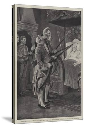 Illustration for a Colonel of the Empire-Richard Caton Woodville II-Stretched Canvas Print