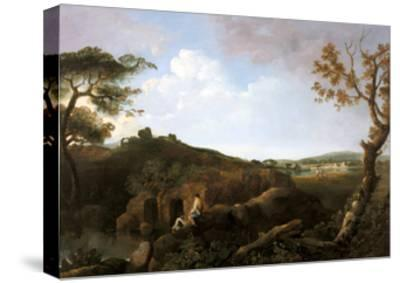 The Alban Hills-Richard Wilson-Stretched Canvas Print