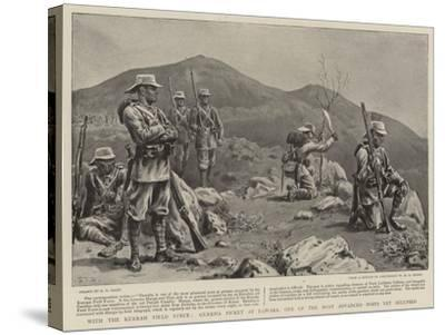 With the Kurram Field Force, Gurkha Picket at Dawaba, One of the Most Advanced Posts Yet Occupied-S^t^ Dadd-Stretched Canvas Print