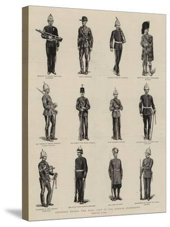 Colonial Troops Who Took Part in the Jubilee Procession-S^t^ Dadd-Stretched Canvas Print