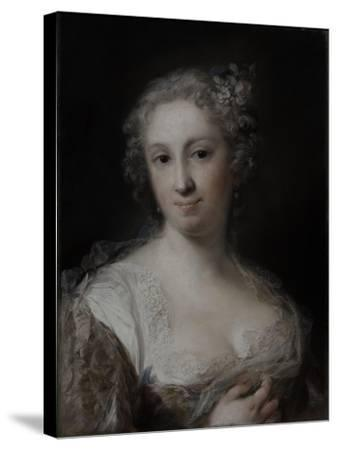 Portrait of a Lady, C.1730-40-Rosalba Giovanna Carriera-Stretched Canvas Print
