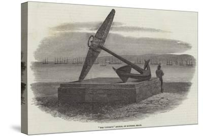 The Victory'S Anchor, on Southsea Beach-Samuel Read-Stretched Canvas Print