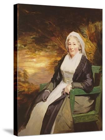 Christina Lamont Drummond, Mrs. Douglas Campbell of Ballimore, C.1795-Sir Henry Raeburn-Stretched Canvas Print