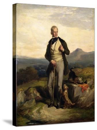 Sir Walter Scott (1771-1832)-Sir William Allan-Stretched Canvas Print