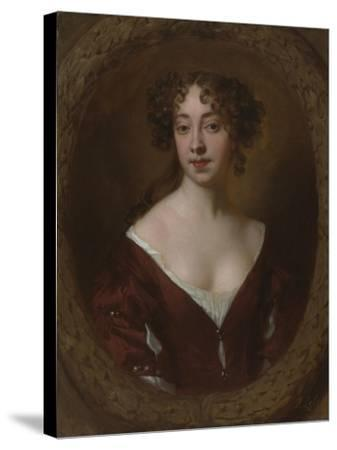 Portrait of Mary Farrington (Née Smith), C.1675-Sir Peter Lely-Stretched Canvas Print