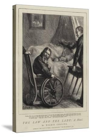 The Law and the Lady, a Novel-Sydney Prior Hall-Stretched Canvas Print