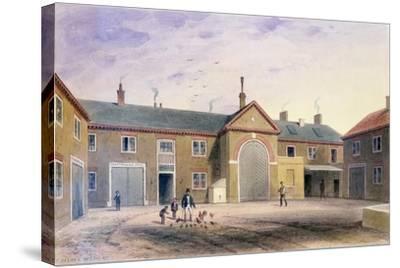 The City Green Yard, 1855-Thomas Hosmer Shepherd-Stretched Canvas Print