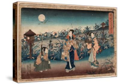 Jugo-Utagawa Toyokuni-Stretched Canvas Print