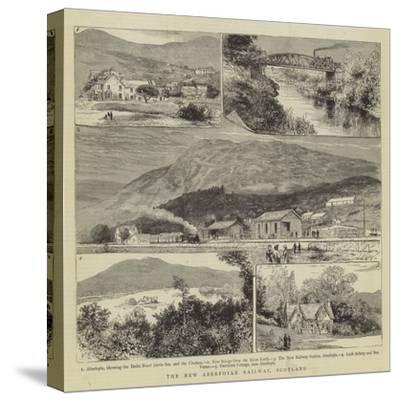 The New Aberfoyle Railway, Scotland- Warry-Stretched Canvas Print