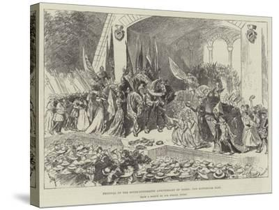 Festival of the Seven-Hundredth Anniversary of Berne, the Historical Play-William Douglas Almond-Stretched Canvas Print
