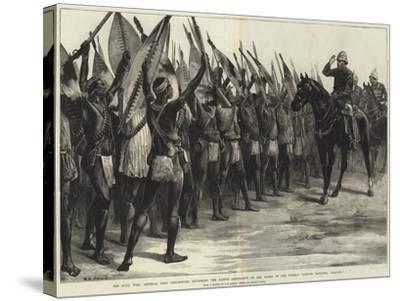 The Zulu War-William Heysham Overend-Stretched Canvas Print