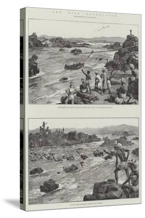 The Nile Expedition-William Heysham Overend-Stretched Canvas Print