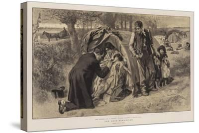 The Good Samaritan-William Small-Stretched Canvas Print