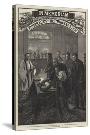 Funeral of the Princess Alice--Stretched Canvas Print