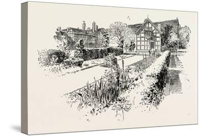 Garden Front of the House in Which Shakespeare Was Born--Stretched Canvas Print