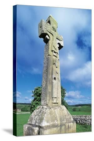 High Cross known as St Tola's Cross--Stretched Canvas Print