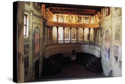 Interior of the Theatre in the Style of the Ancients--Stretched Canvas Print