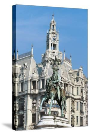 Liberdade Square (Liberty or Freedom Square)--Stretched Canvas Print