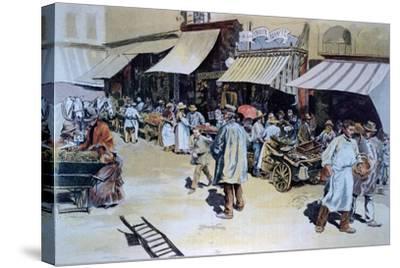 Merchant of Four Saisons--Stretched Canvas Print