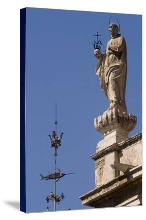 St Francis Borgia--Stretched Canvas Print