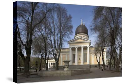Spaso-Preobrazhensky Cathedral--Stretched Canvas Print