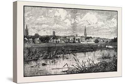 Stamford Is a Town and Civil Parish on the River Welland in the South Kesteven District of the Coun--Stretched Canvas Print