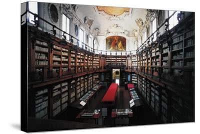 The Library of Classense Library--Stretched Canvas Print