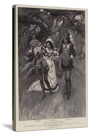 The Performance of As You Like It at Stratford-On-Avon by Mr Daly's Company in Aid of the Shakespea--Stretched Canvas Print