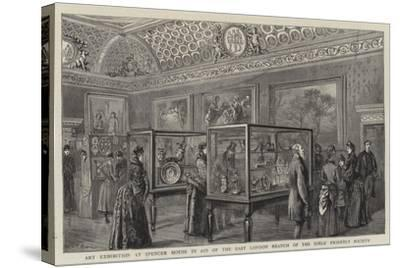 Art Exhibition at Spencer House in Aid of the East London Branch of the Girls' Friendly Society--Stretched Canvas Print