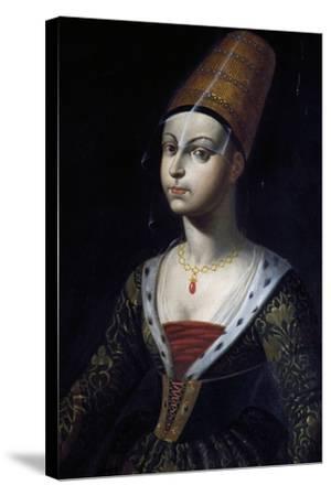 Portrait of Francoise De Boulogne, Castle of Lapalisse (La Palice), Auvergne, France--Stretched Canvas Print
