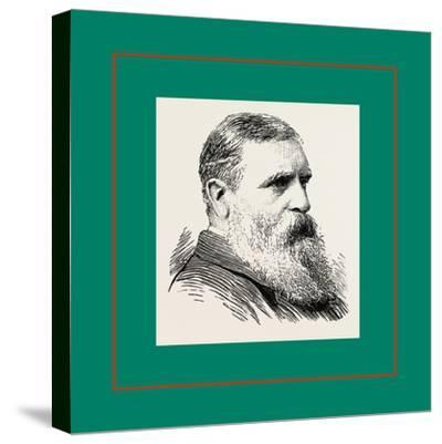 Mr. William Boutcher Kensington, London, UK, Britain, United Kingdom, U.K., Great Britain--Stretched Canvas Print