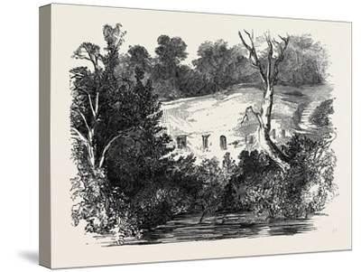 Meeting of the Archaeological Institute, at Newcastle Upon Tyne: the Hermitage, Warkworth--Stretched Canvas Print